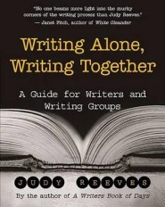a guide for writers and starting a writing group