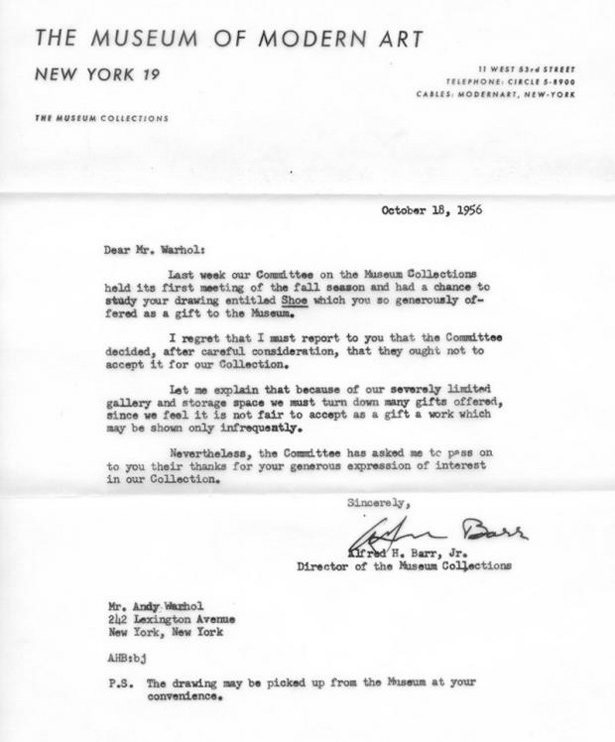 Famous Rejection Letters - The Age of Ideas