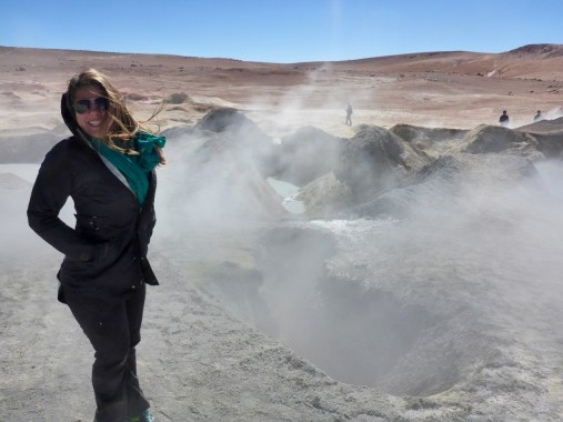 geysers and hot springs atacama desert
