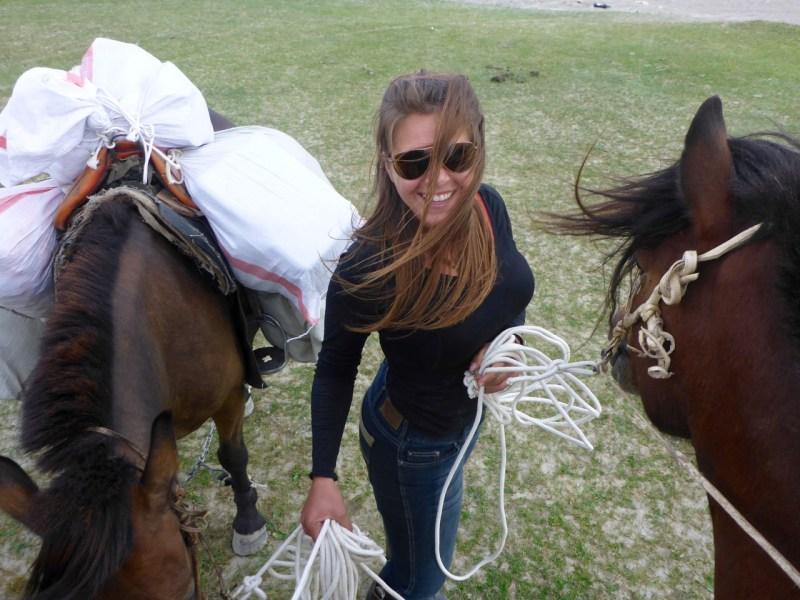 Pack horsin' around