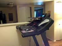 Blog post: final piece to my treadmill desk | Thea Harrison