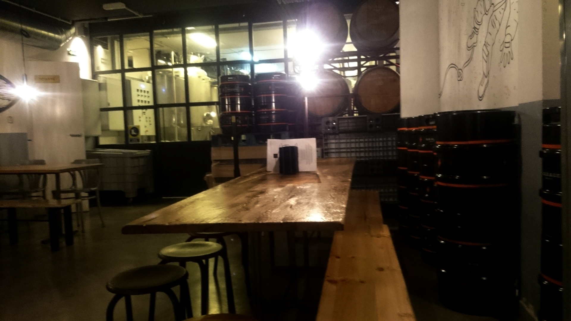 Garage Brewing Restaurant Craft Beer In Barcelona The Ale In Kaleigh