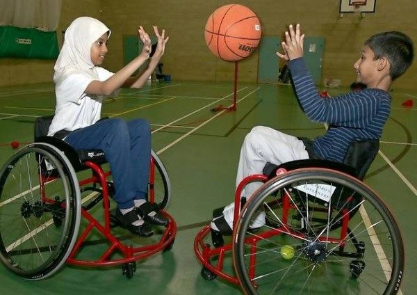 disabled youngsters