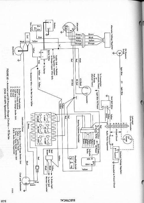 amc amx wire diagram 1973