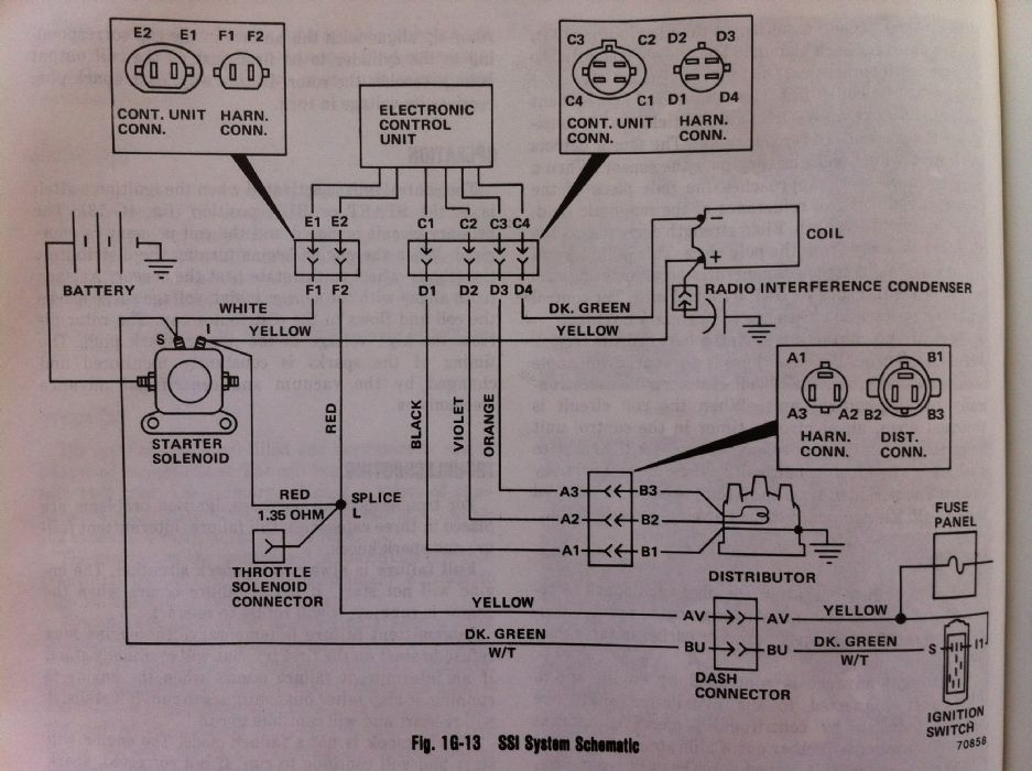 gm 4 3 to amc hei wiring diagram