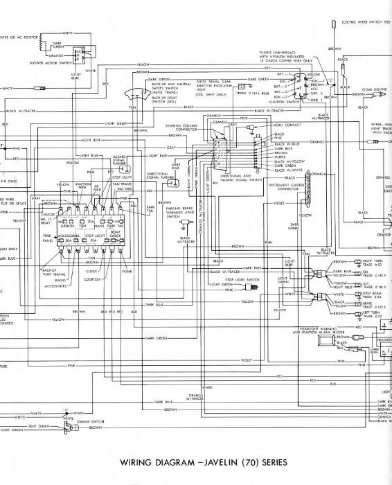 wiring diagram for 1971 amc hornet