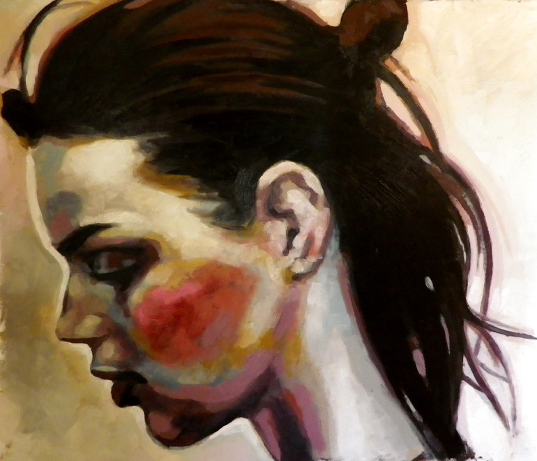 Thomas Saliot face, portrait