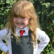 Miss A's First Day at Primary School