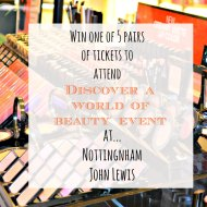 Discover A World Of Beauty Event : Giveaway