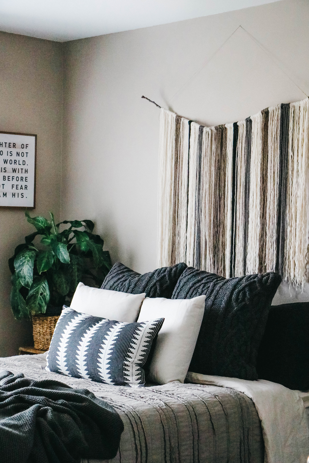Boho Bedroom An Earthy Boho Bedroom Makeover The Anastasia Co