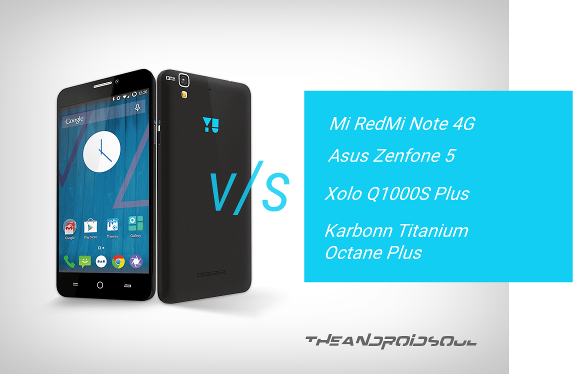 Micromax Yu Yureka Comparison – The Android Soul
