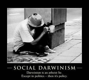 Social Darwinism Poster