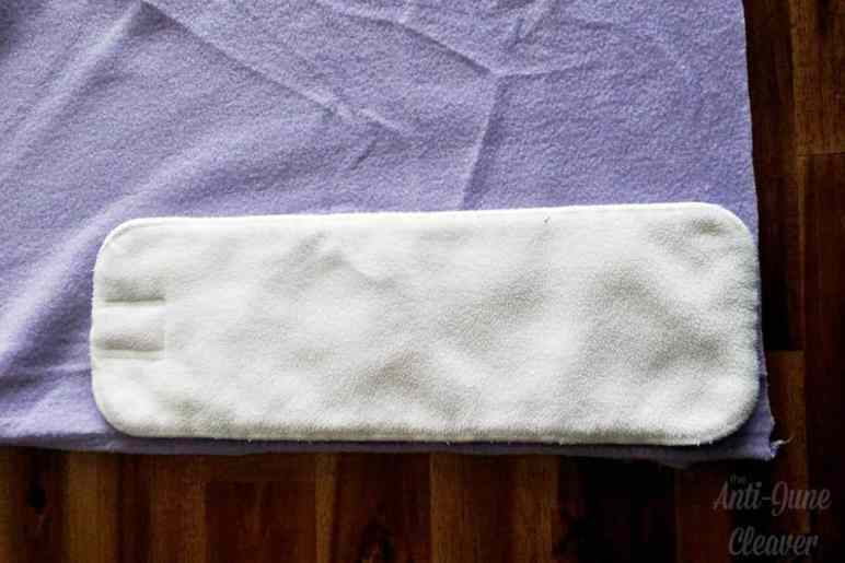 Make your own DIY fleece cloth diaper liners