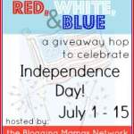 Red, White, & Blue Blog Hop Giveaway! #redwhiteblue