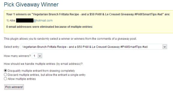 PAM winner