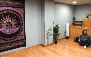 Meditation room gets remodeled