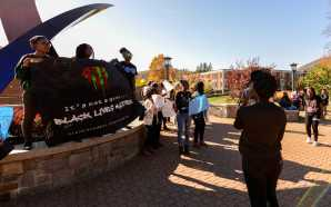 Appalachian students protest police brutality