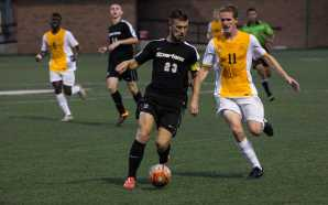 Smalley's first collegiate goal seals win