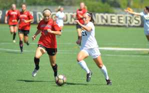 Women's soccer lose first home game