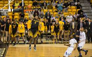 Mountaineers pick up thrilling win over Panthers on eventful day
