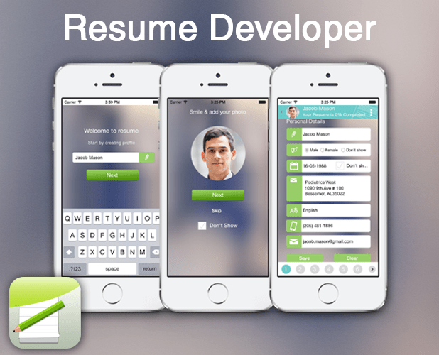 App For Resumeresume builder app | resume templates and resume ...