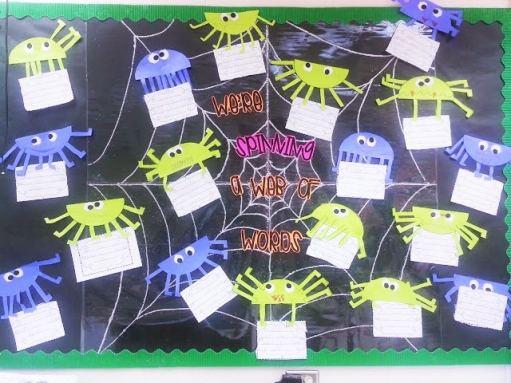 Large Halloween Spiders
