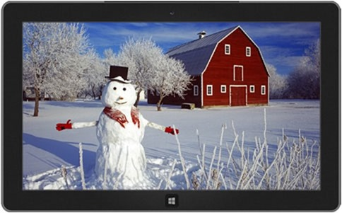 snowmen - Windows 8 Winter Themes