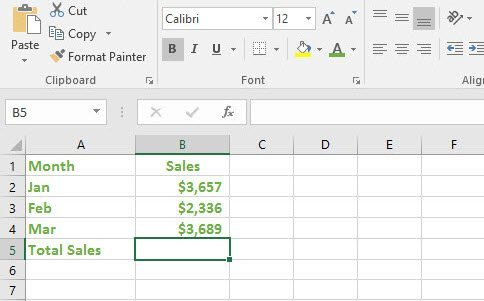 Excel Formulas for Beginners - Create, Edit, Copy - TheAppTimes