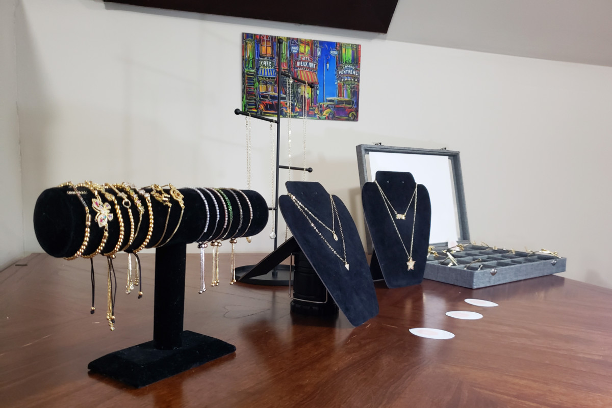 Business Goddesses Start New Jewelry Line The Aquinian - Sparks Flooring Chatham