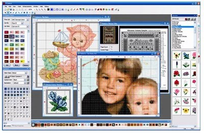 PC Stitch Converts Photos to Cross Stitch Chart