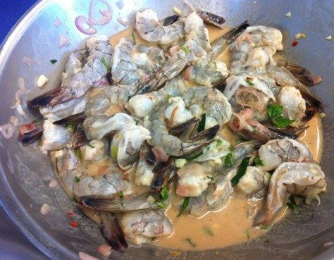 Shrimp Tamarind Mixture