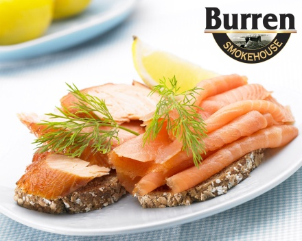 Burren Smokehouse Salmon Plate