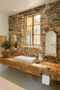 20 Gorgeous Rustic Bathroom Decor Ideas to Try at Home ...