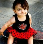 Cute Baby Girls Smile