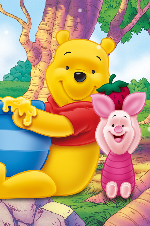 Pooh Bear Iphone Wallpaper Winnie The Pooh Iphone Wallpaper 36 【ディズニー】くまのプーさん