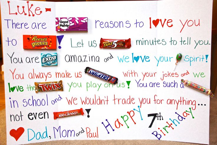 Happy Birthday Candy Poster Ideas 6 The Art Mad