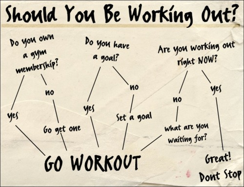 Should You Be Working Out?