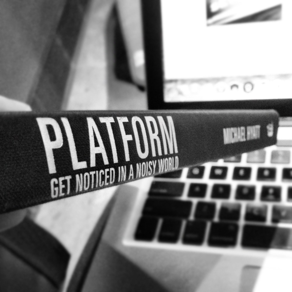 Book InSiGhT:  Platform - Get Noticed In A Noisy World (1/2)