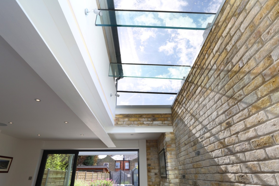 Glass Roof Extension Wrap Around Extension With Side Glass Roof The Art Of Building