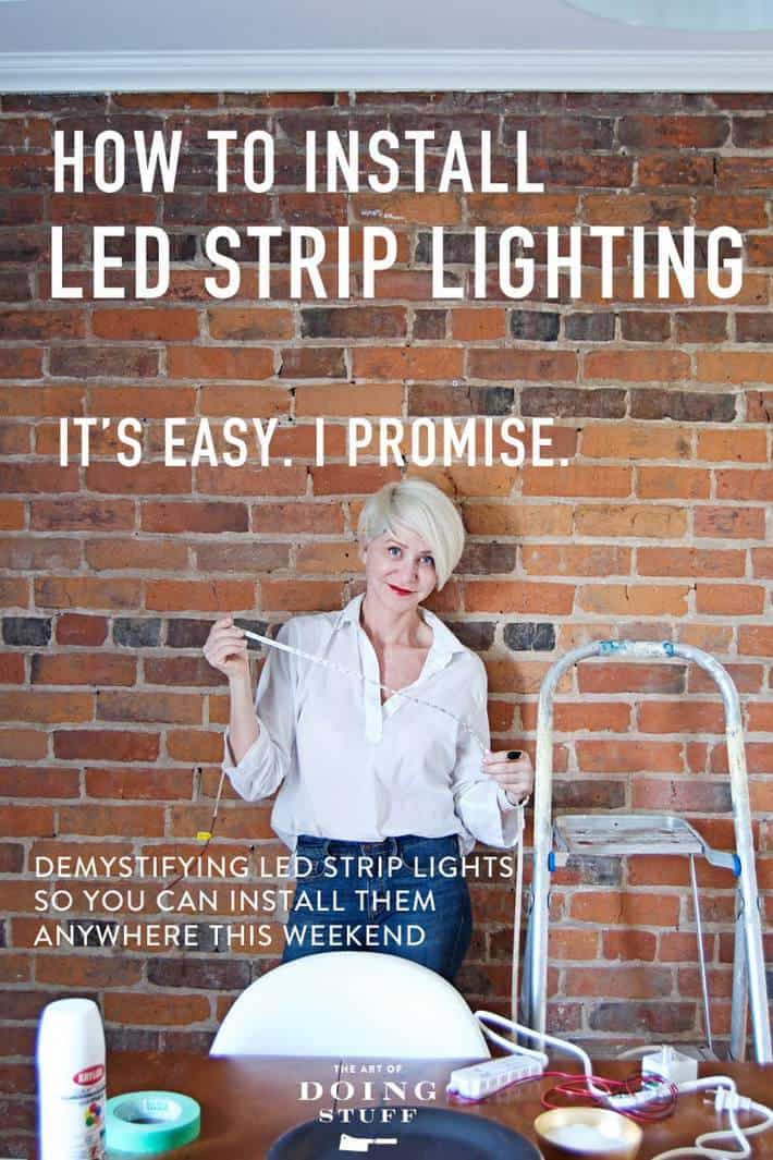 Easy Led Led Strip Lighting The Easy Way To Illuminate Anything The Art