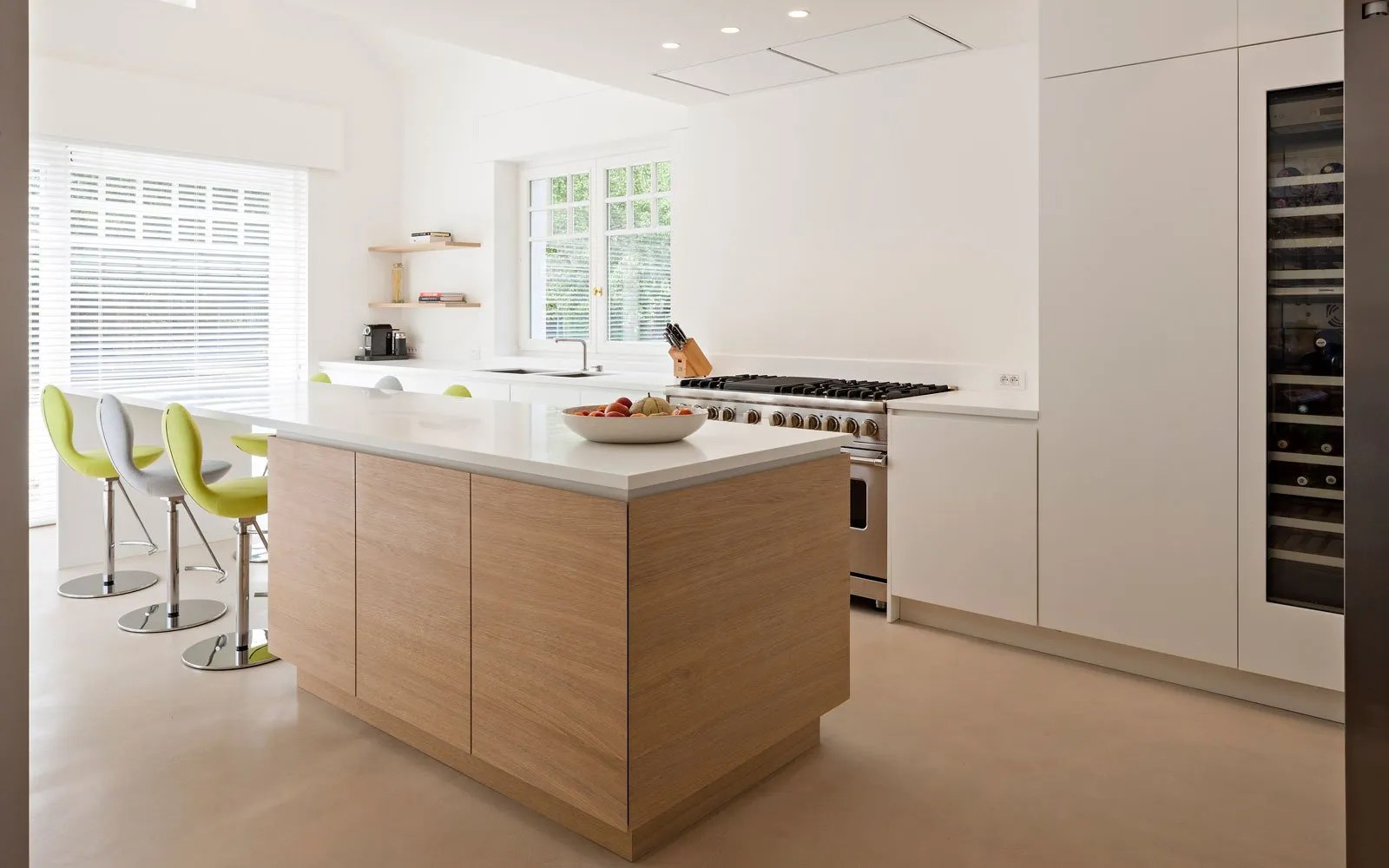 Keuken Amerikaanse Stijl Luxe Amerikaans Interieur | B+ Villas - The Art Of Living (be)