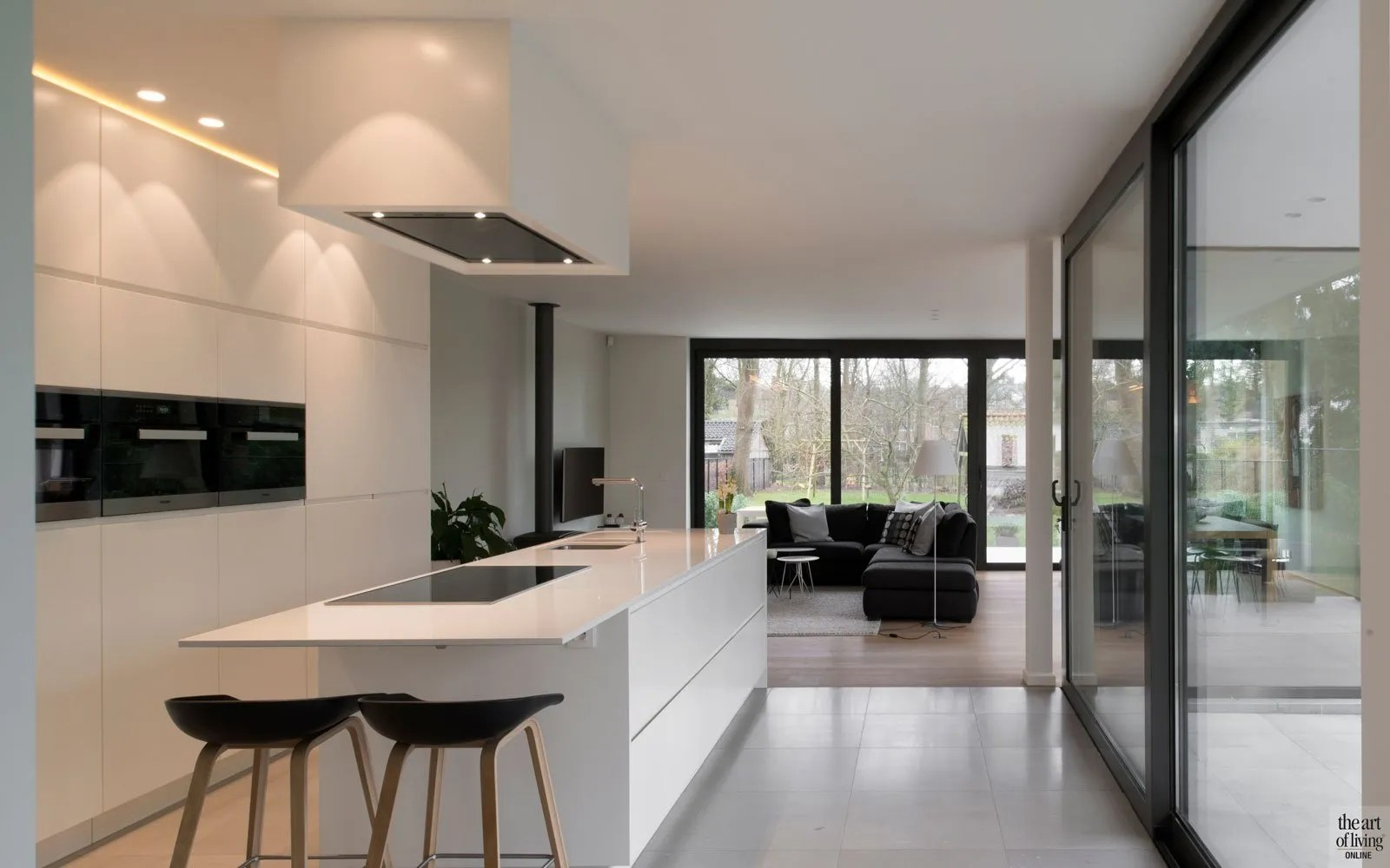 Aluminium Plaat Keuken Moderne Villa | Leers & Partners - The Art Of Living (be)