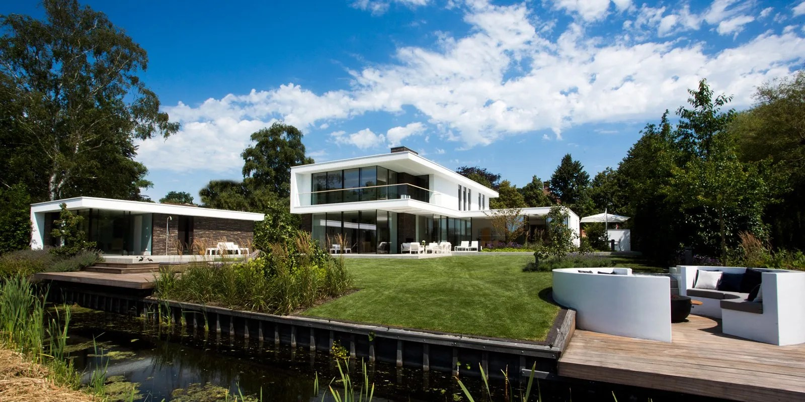 Van Egmond Architecten Moderne Villa Van Egmond The Art Of Living Nl