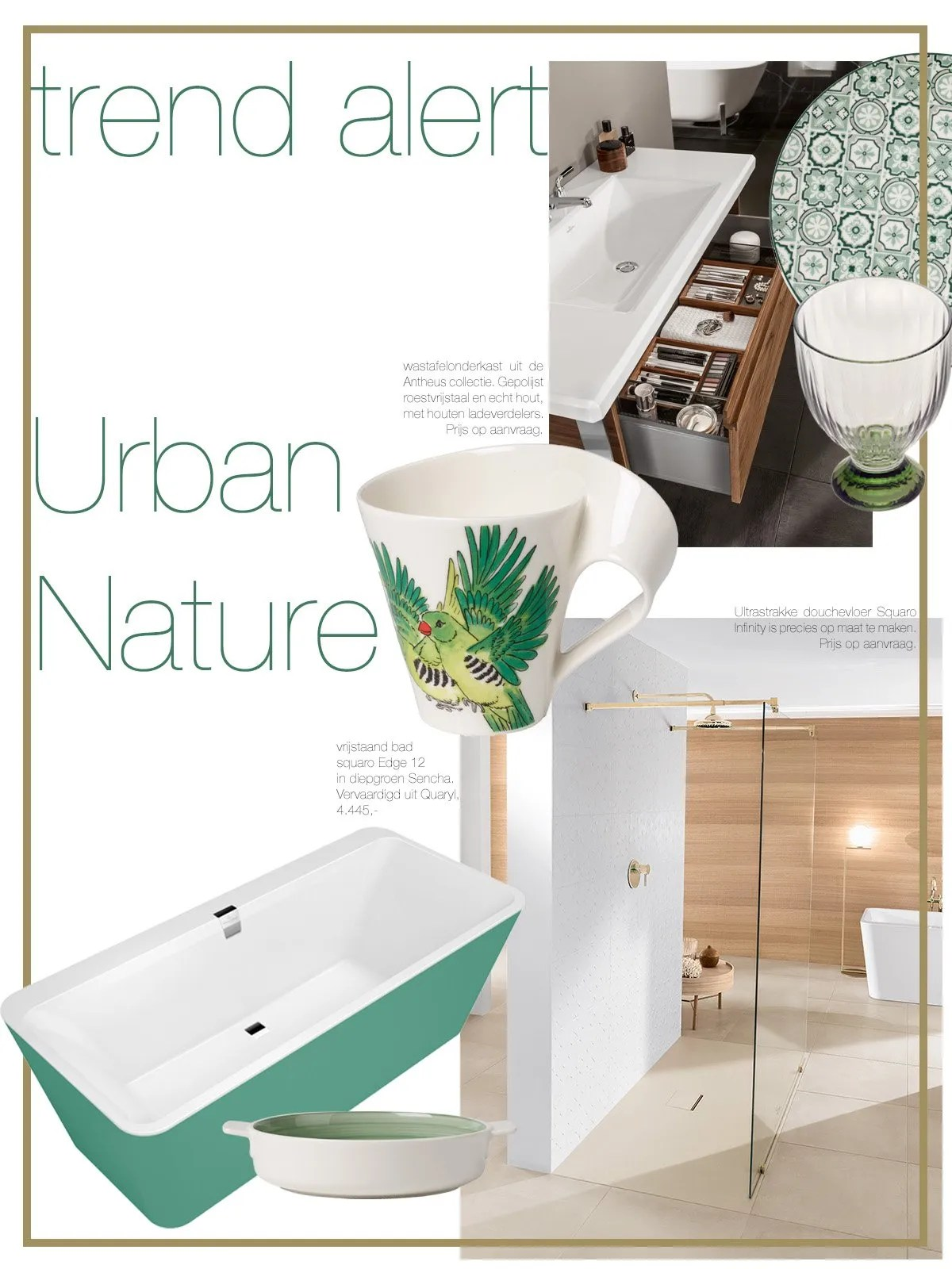 Urban Nature Interieur Urban Nature Villeroy Boch The Art Of Living Nl
