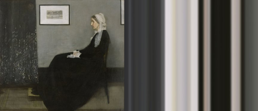 Whistler's Mother Ombré | The Art of Mark Evans