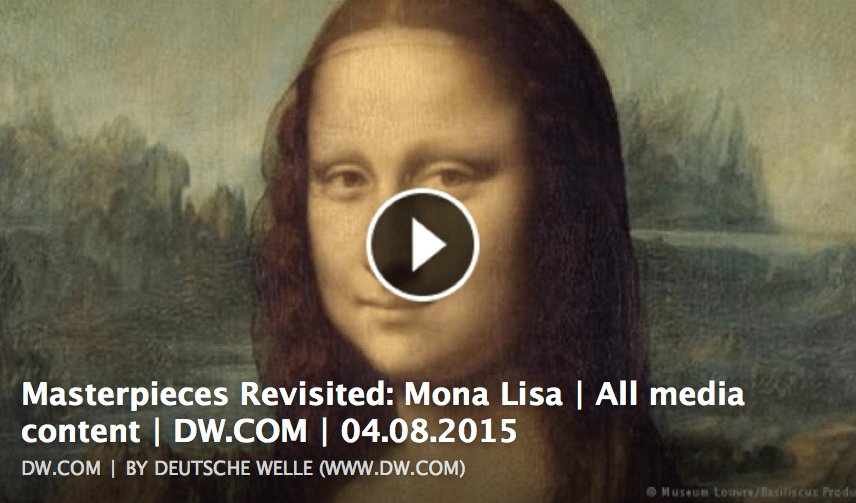 Masterpieces Revisited: Mona Lisa