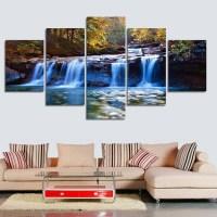 20 Photos Waterfall Wall Art