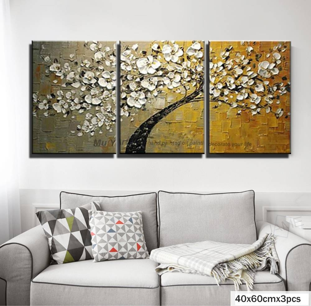 Amusing Piece Wall Art 3 Piece Wall Art Farmhouse 3 Piece Wall Art Blue Aliexpress Buy Piece Wall Art Decor Red Tree Abstract Intended Forlatest Piece 2018 art 3 Piece Wall Art