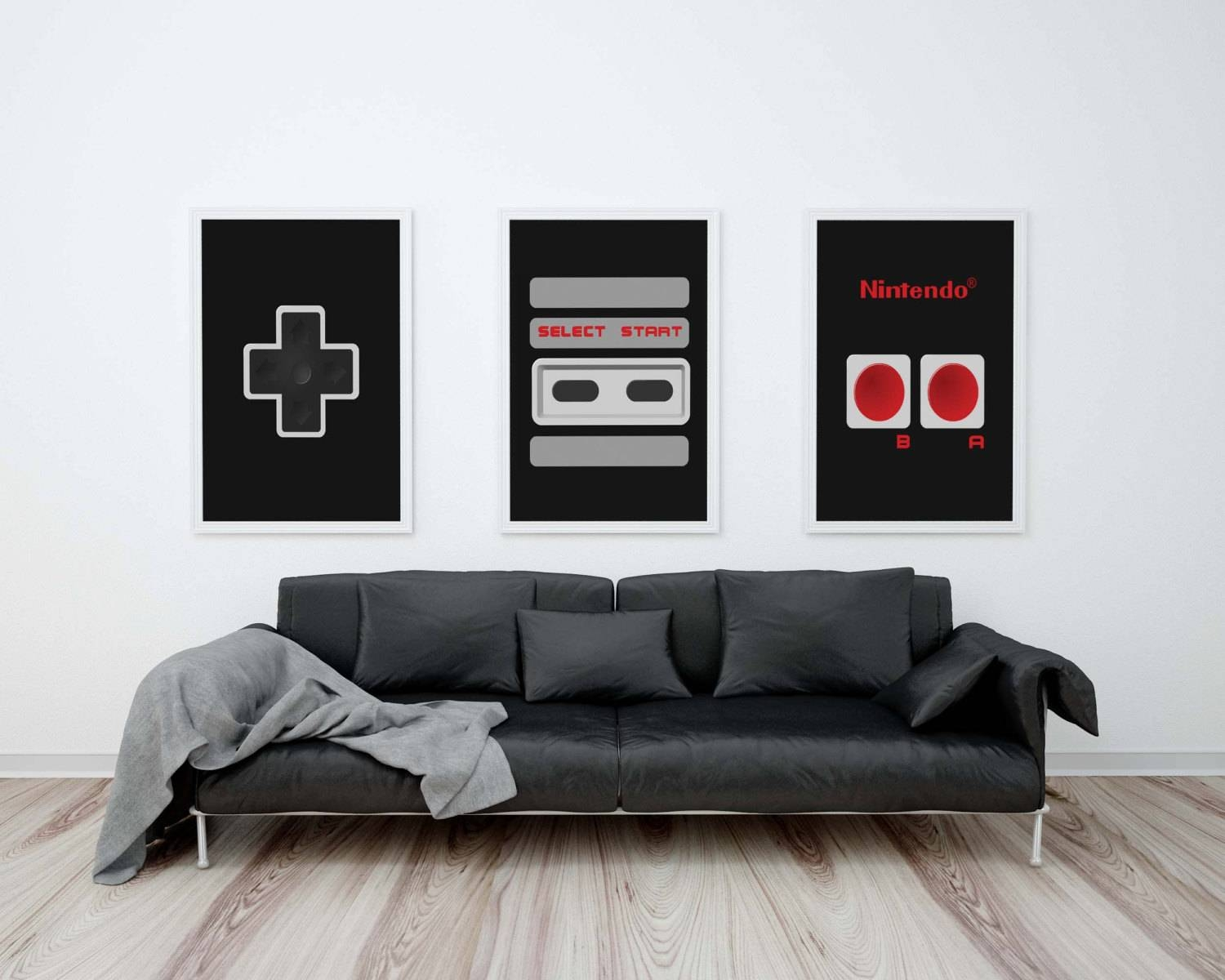 Geek Wall Art 30 Collection Of Video Game Wall Art