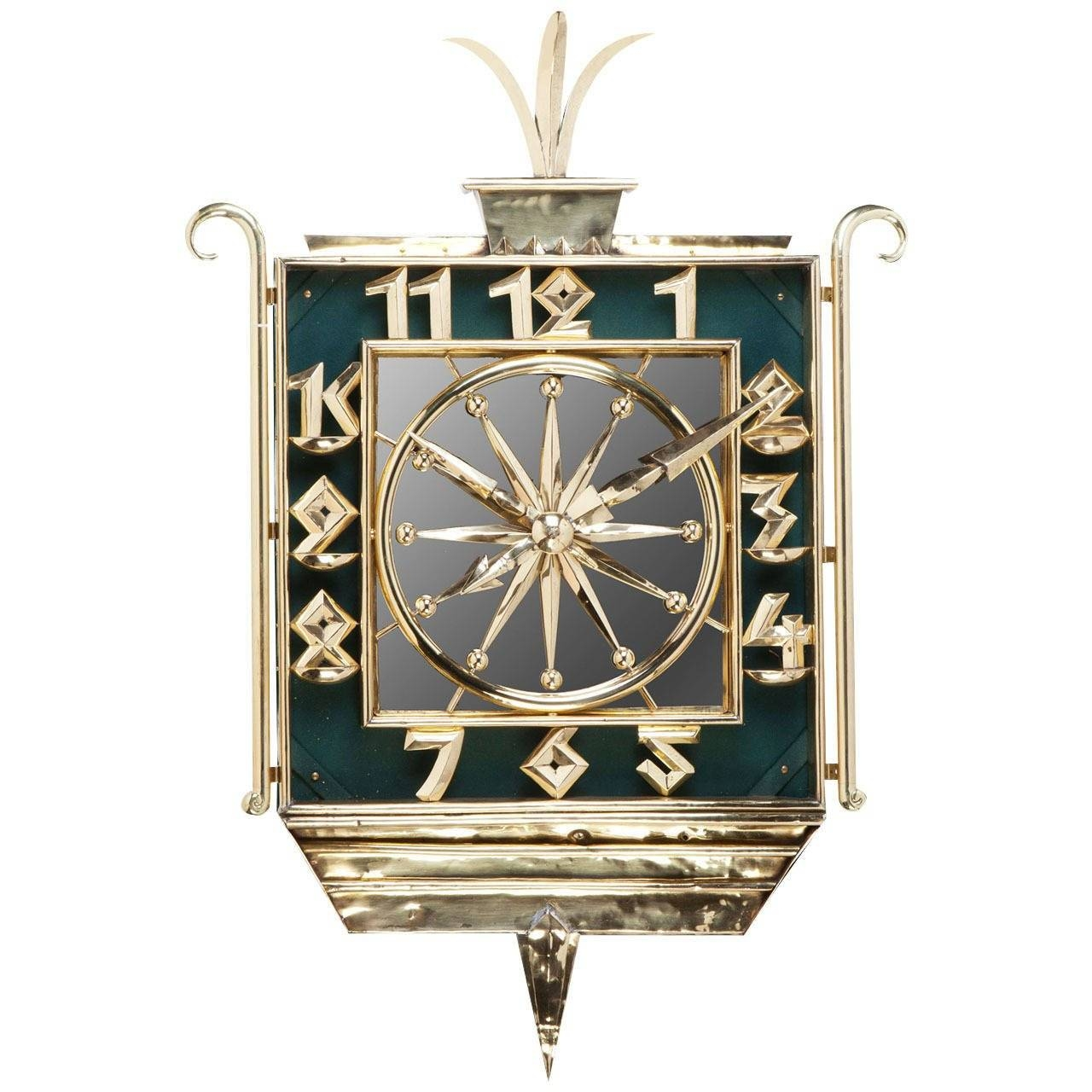 Wall Art Clocks 2018 Popular Art Deco Wall Clocks